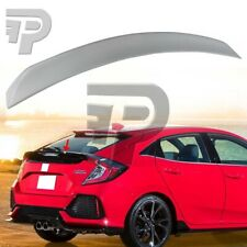 2016up Fit For Honda Civic 10th Hatchback DTO L Look Trunk Boot Spoiler UnPaint