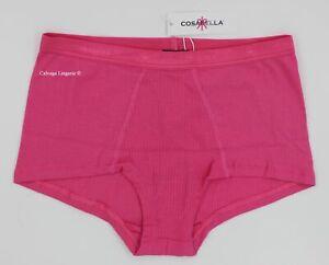 "NWT COSABELLA COSTI0731 ""Costina"" Cotton Boyshorts Boybriefs, Italy, Miami Pink"
