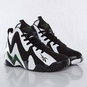New REEBOK KAMIKAZE II 2 Green SuperSonics SHAWN KEMP Retro Mens Sneakers Sz 9.5