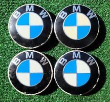 """Factory BMW Center Caps Set Four 68mm 2 3/4"""" Genuine Original OEM Wheel 6783536"""