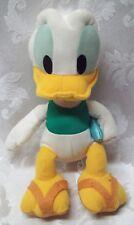 DISNEY DONALD DUCK Plush SEGA Prize Redemption Doll EUC Walt Baby Blue Pillow