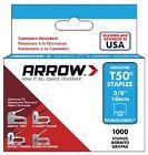 "Arrow T50, 3/8"", Stainless Steel, Staples"