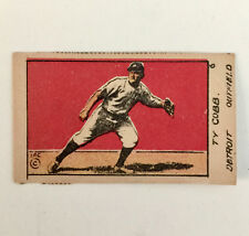 1920 W516-1 #6  TY COBB BASEBALL CARD - Detroit Tigers, Authentic         (5F1)