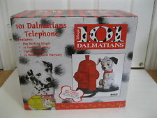 Vintage-Disney 101 Dalmations Brooktel Barking Telephone Phone+5$ Coupon N.I.B.