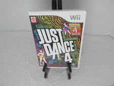 Just Dance 4 Nintendo Wii Game Complete Tested Working Dancing