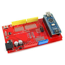Nano-UNO Shield Adapter + Nano Development Board for Arduino HM