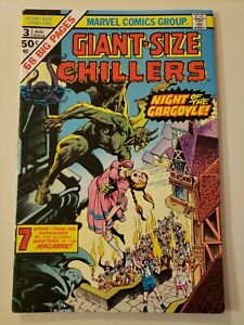 Giant-Size Chillers #3. Marvel. Aug 1975. FN/VF 7.0 or HIGHER! Wrightson Cover