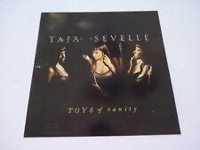 Taja Sevelle Toys of Vanity LP Record Photo Flat 12x12 Poster
