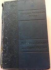 RARE ANTIQUE - Professor Meiklejohn's History of England & Great Britain (1897)