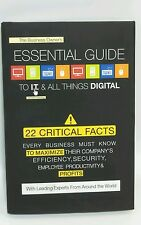 The Business Owner's Essential Guide To I.T. & All Things Digital 2014 HC New