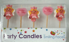 Fairy - Birthday Candles - Pack of 5 - Brand New