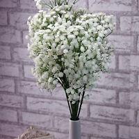 10 Kopf Kunstpflanze Kunstblume Künstliche Blumen Seidenblumen Dekor