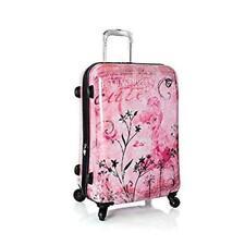 New Heys Disney Fairies Fantasy 26 inch Expandable Spinner Luggage