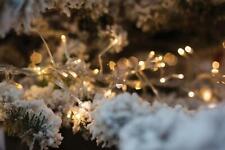 100 LED Christmas Fairy Lights Indoor Tree Decoration 8 Modes Warm White