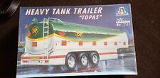 Italeri Heavy Tank Trailer TOPAS 1:24 Scale Model Kit