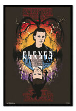FRAMED Stranger Things Eleven Poster Official Licensed 26x38"