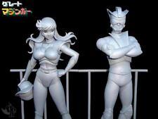 Great Mazinger グレートマジンガーJun Hono and Testuya Tsurugi resin kit 1:8 by SRM !