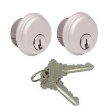 ILCO KEYED ALIKE LOCK CYLINDERS FOR ADAMS RITE, KAWNEER COMMERCIAL GLASS DOOR A