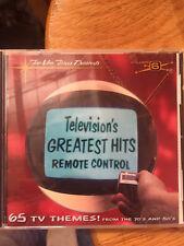 TELEVISION'S GREATEST HITS VOL. 6 REMOTE CONTROL - V/A - CD - SOUNDTRACK -