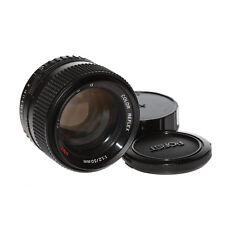 Porst Color Reflex UMC X-M G 50mm 1:1,2 lichtstarkes Normalobjektiv für Fujica X