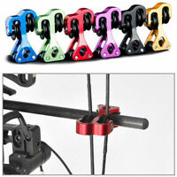 "Aluminum 3/8"" Super String Roller Archery Cable Slide Splitter For Compound Bow"