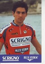 CYCLISME carte cycliste BIAGIO CONTE  équipe SCRIGNO BLUE STORM