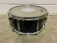"""Ludwig Accent 14"""" x 6.5"""" Wooden Shelled 8 Lug Black Snare Drum/Hardware #SN918"""