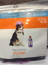 Dog costume ( Halloween) Punk Rocker - new in pkg - size M /L medium to large NW