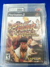 Ukg 90+ Mt Gold Ntsc ps2 PlayStation 2 Street fighter  ukg not vga Sealed Game