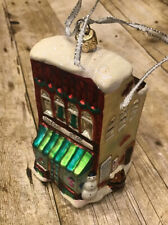 Christopher Radko General Store Village Christmas Ornament Used