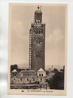 Maroc - MARRAKECH - La Koutoubia  (J924)