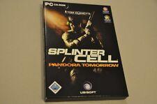 PC Game Spiel - Splinter Cell Pandora Tomorrow - Deutsch komplett - CD-Rom