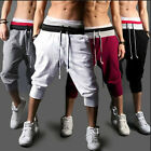 Mens Hip Hop Casual Dance Jogger Sport Shorts Baggy Slacks Harem Pants Trousers