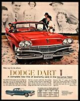 1960 DODGE DART Red Sedan Classic Car Photo AD Seneca Pioneer Phoenix comparison