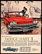 1960 DODGE DART Red Sedan Classic Car Photo AD Seneca Pioneer Phoenix comparison