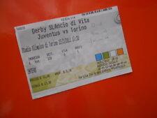 BIGLIETTI CALCIO STADIO JUVENTUS TORINO 23 3 2011