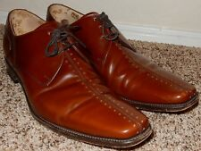Design Loake Men's Dress Shoes Brown Leather - Size 12 M Made in India