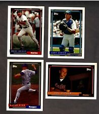 1992 TOPPS COMPLETE 792 card set, with 5 GOLD'S