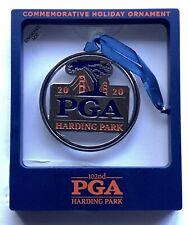 2020 Pga ornament harding park golf holiday christmas new