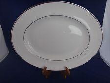"Wedgwood Carlyn Oval Serving Platter ~MINT~ 14"""