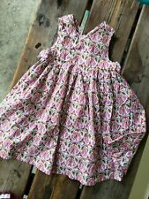 JACADI PARIS baby SZ 12M floral flower lightweight Sleeveless sundress Dress