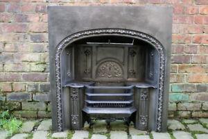 Victorian Hob Grate In Cast Iron