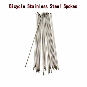 Bicycle Silver Stainless steel Spokes wire mountain/road 304 spokes 14G