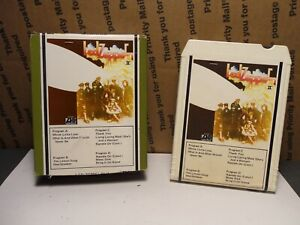 ATLANTIC LED ZEPPELIN II 8-Track Tape RARE PICTURE BOX TAPE COVER
