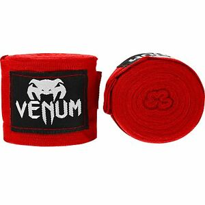 Venum Boxing Bandages Contact 2,5m 0430. Red. Hand Wraps. Boxing Kickboxing Thai