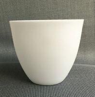 Becher Knochenporzellan matt unglasiert Schale Kussmund Mug Suppen Tasse de thé