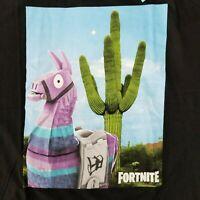 Fortnite Men's XL T-Shirt Loot Llama Cactus Licensed Epic Video Games