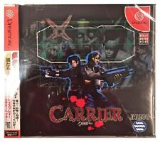 CARRIER (DREAMCAST - JAPAN) BRAND NEW SEALED - FREE U.S. SHIPPING - NICE