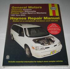 Reparaturanleitung Chevrolet Venture / Opel Sintra / Pontiac Montana 1997 - 2005