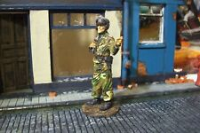 ww2 german tin 1/32 scale tank commander in camo pro painted